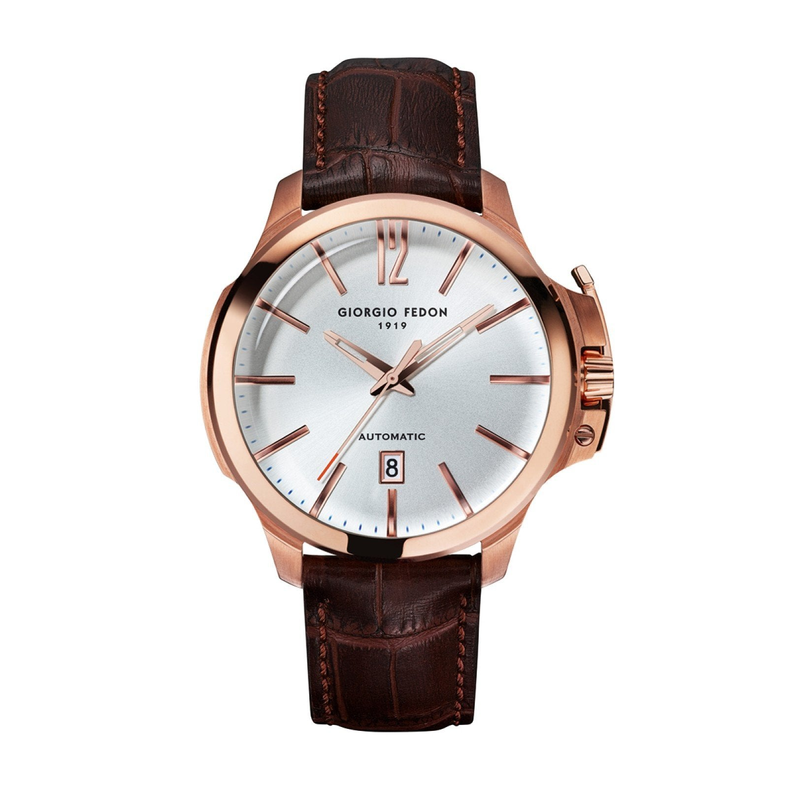 Giorgio Fedon Timeless VI Silver Rose Gold - Watches & Crystals