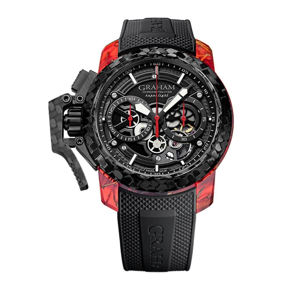 Graham Chronofighter Superlight 2 Black - Watches & Crystals