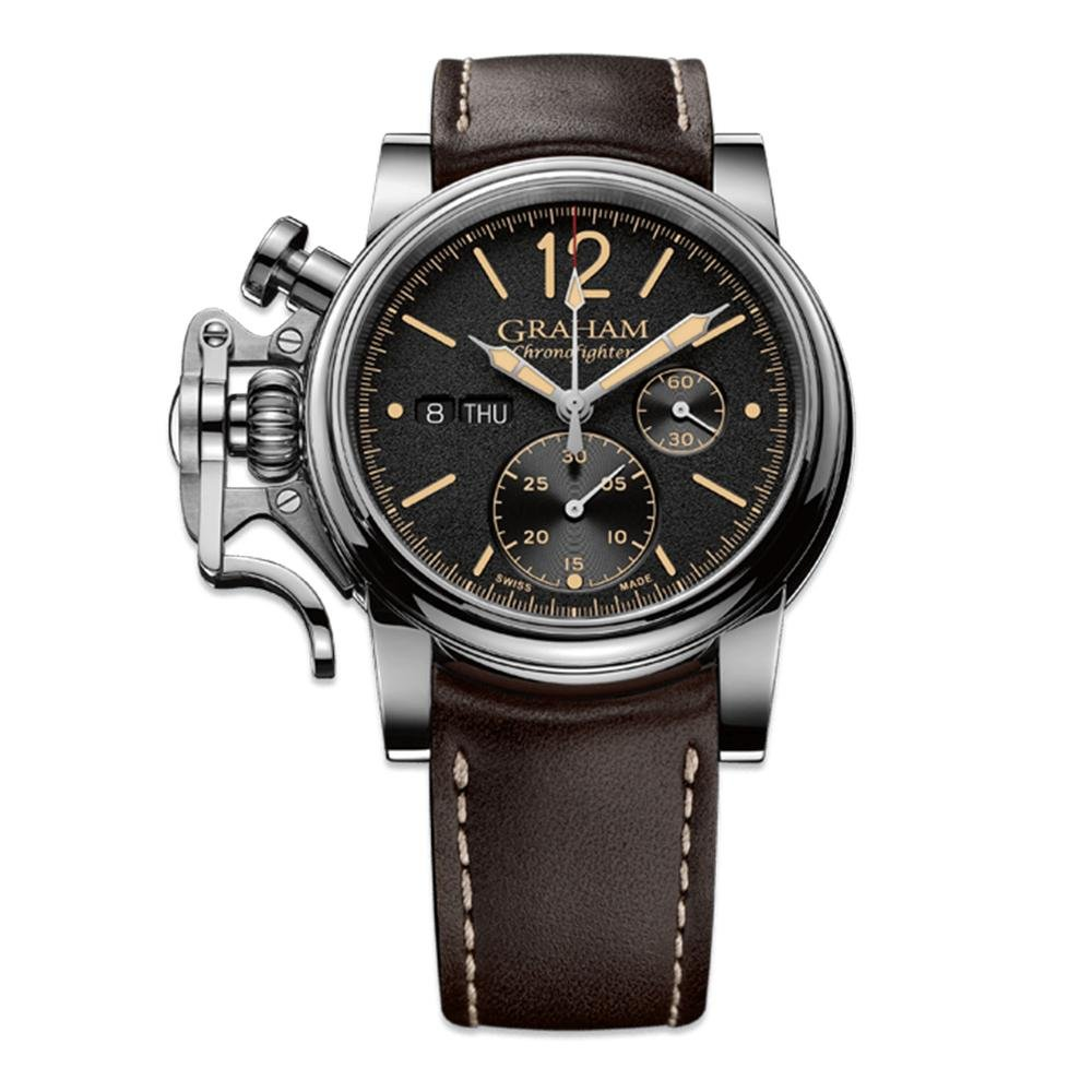 Graham Chronofighter Vintage Black - Watches & Crystals