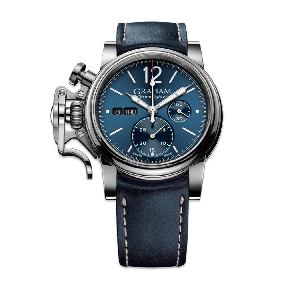 Graham Chronofighter Vintage Blue - Watches & Crystals