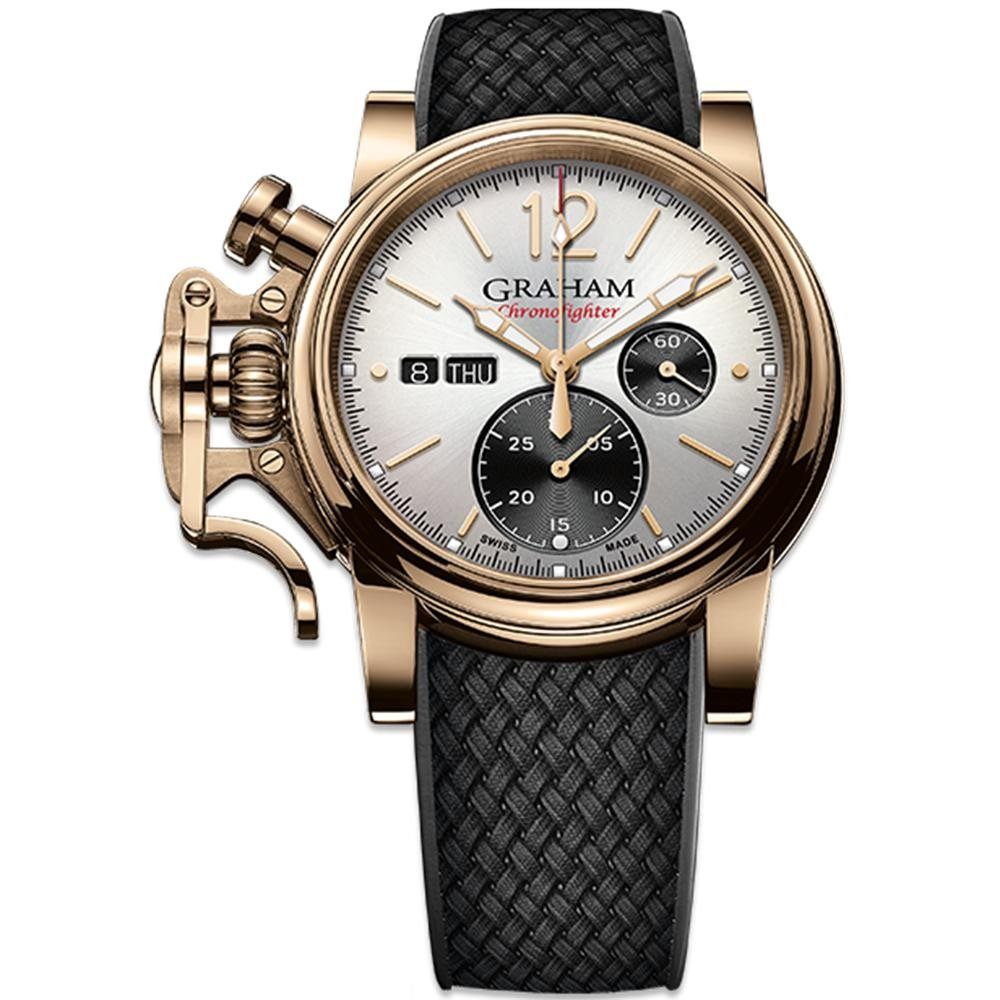 Graham Chronofighter Vintage Bronze Silver Dial - Watches & Crystals