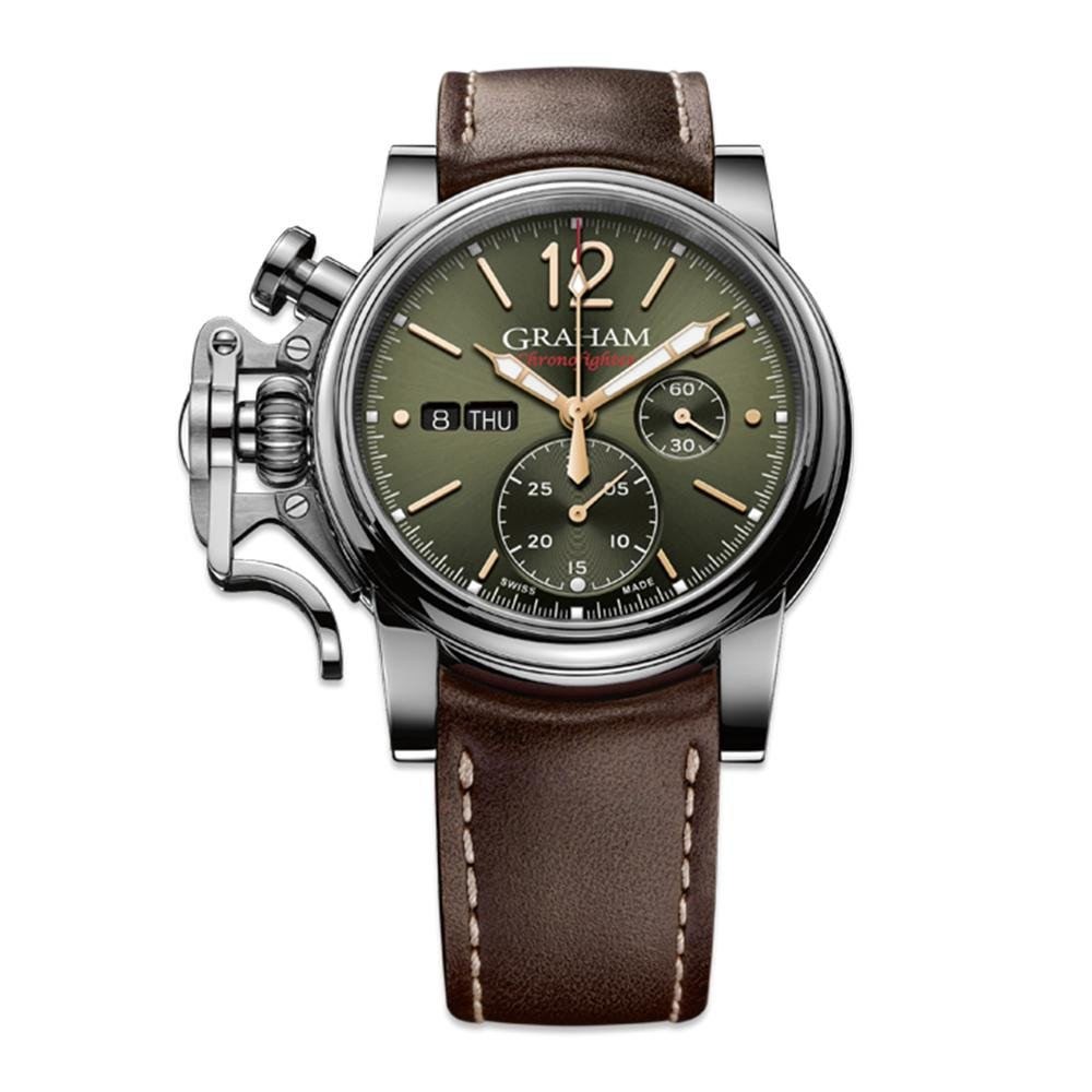 Graham Chronofighter Vintage Green - Watches & Crystals