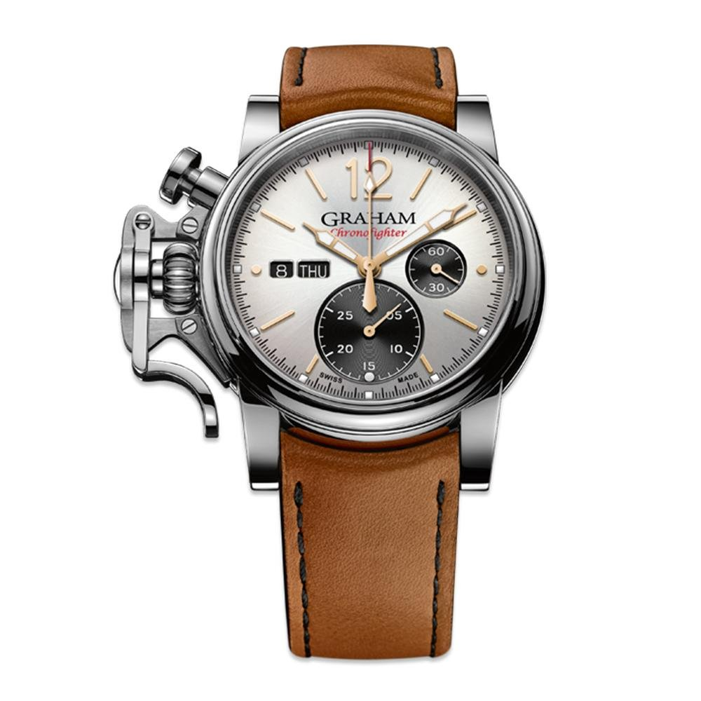 Graham Chronofighter Vintage Silver - Watches & Crystals