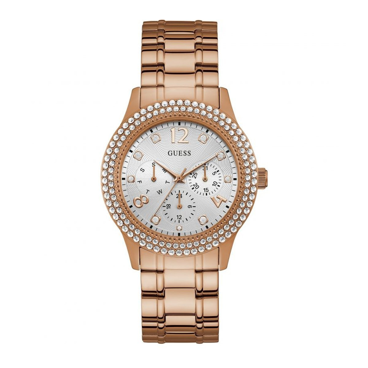 Guess Bedazzle Rose Gold - Watches & Crystals