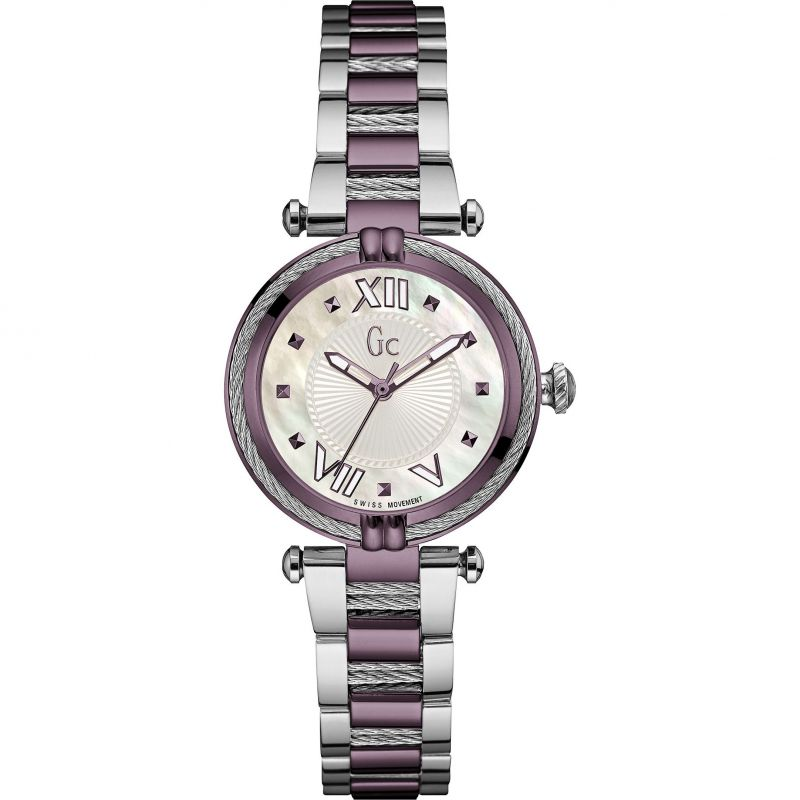 Guess Collection Cable Chic Ladies Watch Purple - Watches & Crystals