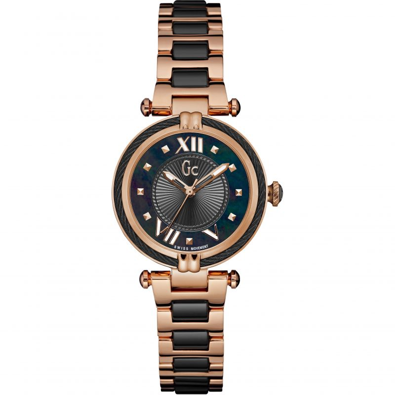 Guess Collection Cable Chic Ladies Watch Rose Gold - Watches & Crystals