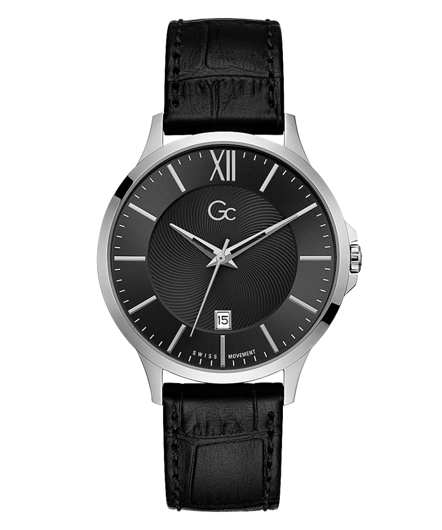 Guess Collection Executive Men's Watch Black - Watches & Crystals