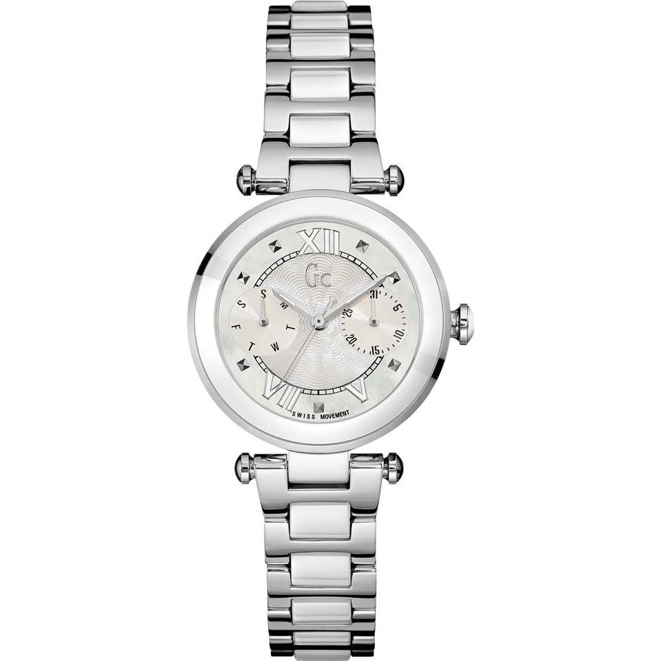 Guess Collection Lady Chic Day Date Ladies Watch Steel - Watches & Crystals