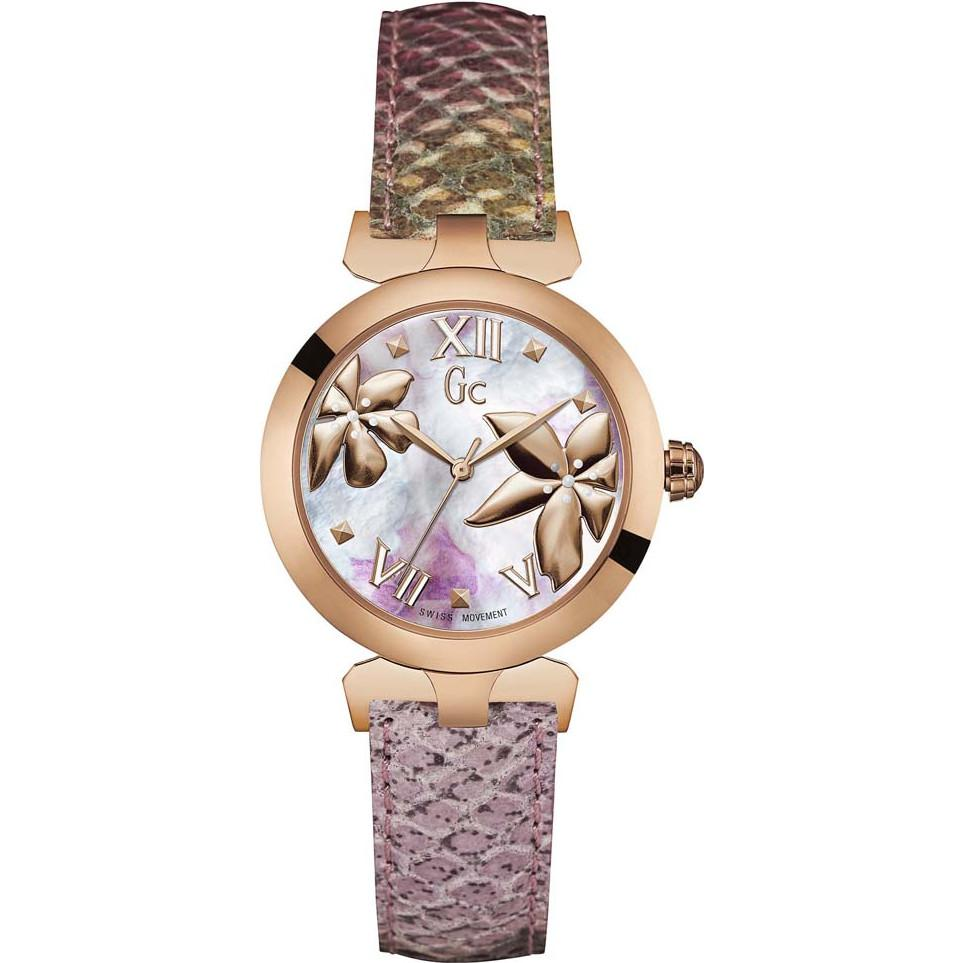 Guess Collection Ladybelle Ladies Watch Multi Colour Rose Gold - Watches & Crystals