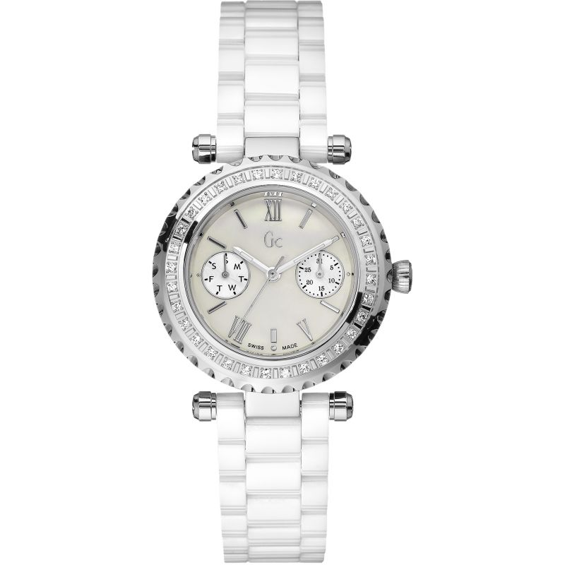 Guess Collection Ladychic Watch Ceramic - Watches & Crystals