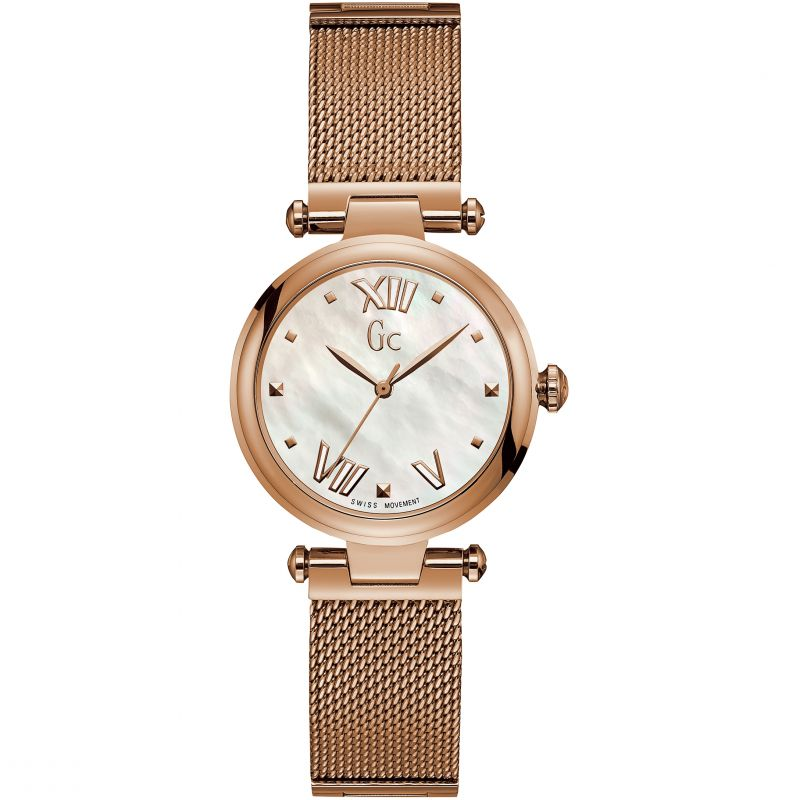 Guess Collection Pure Chic Ladies Watch Rose Gold - Watches & Crystals