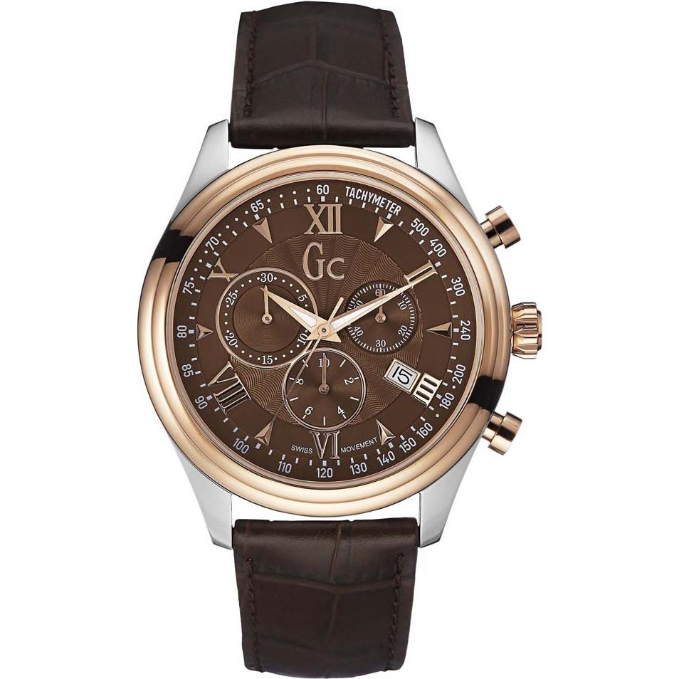 Guess Collection SmartClass Men's Chronograph Watch Steel - Watches & Crystals