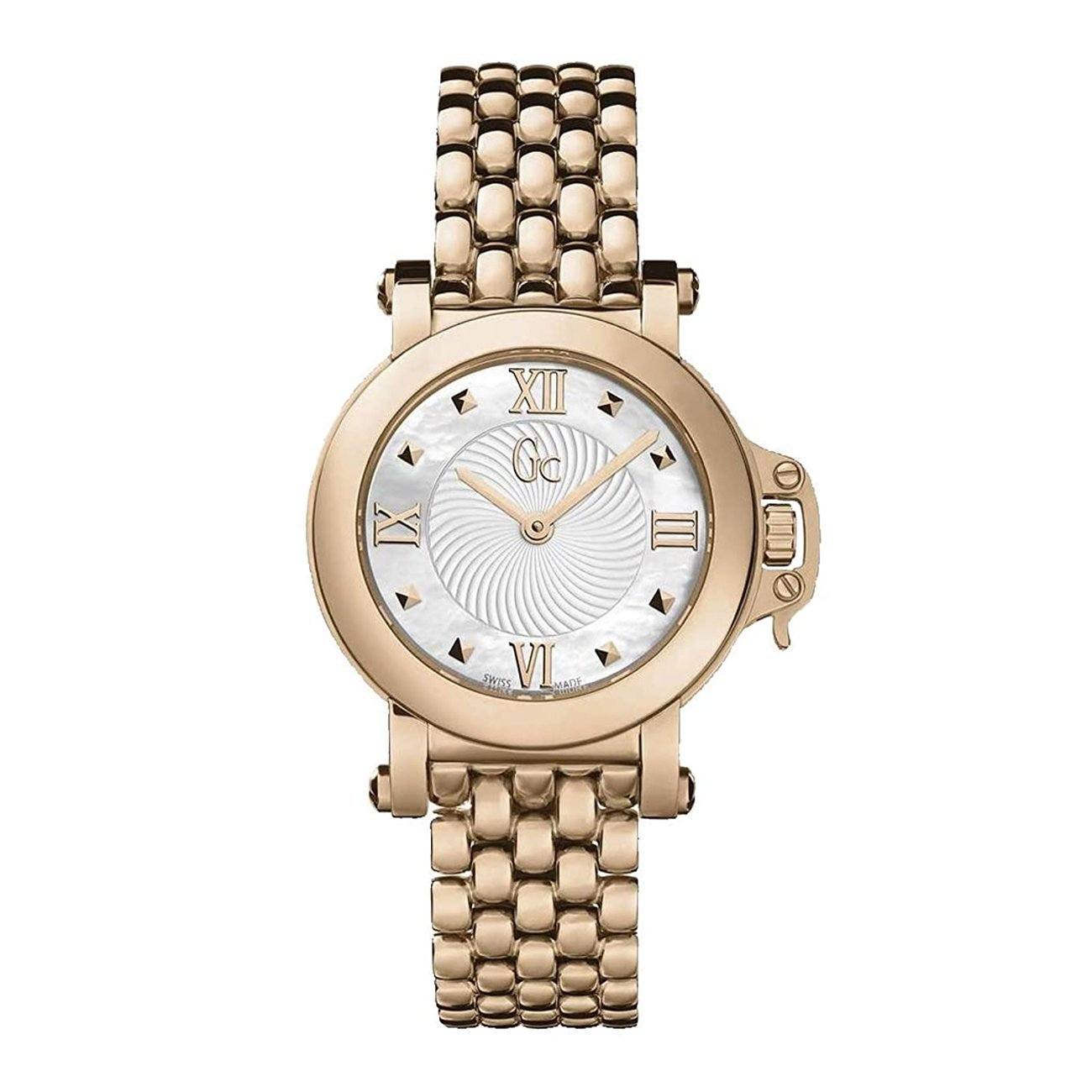 Guess Collection Sport Chic Ladies Watch Rose Gold - Watches & Crystals