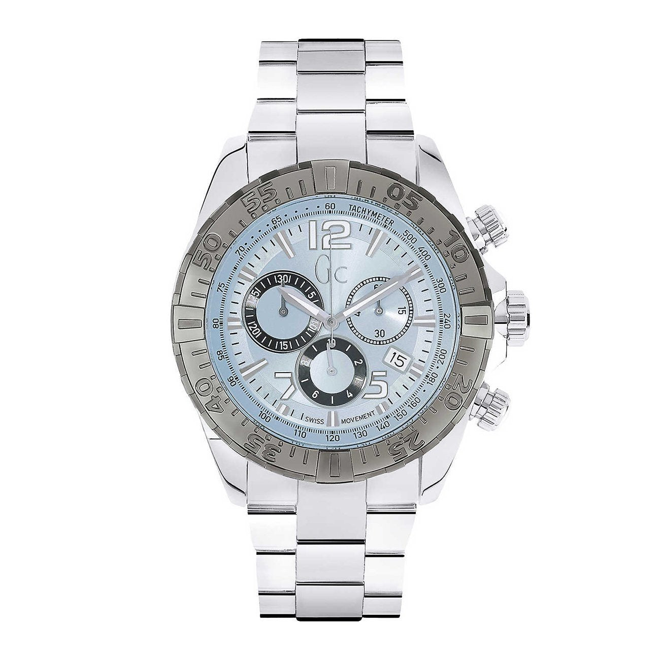 Guess Collection Sportracer Men's Chronograph Watch Steel - Watches & Crystals