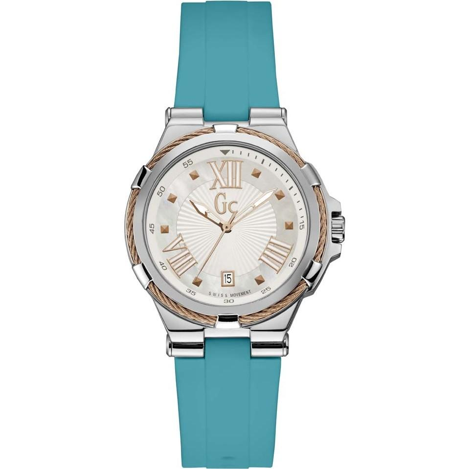 Guess Collection Structura Cable Ladies Watch Blue - Watches & Crystals