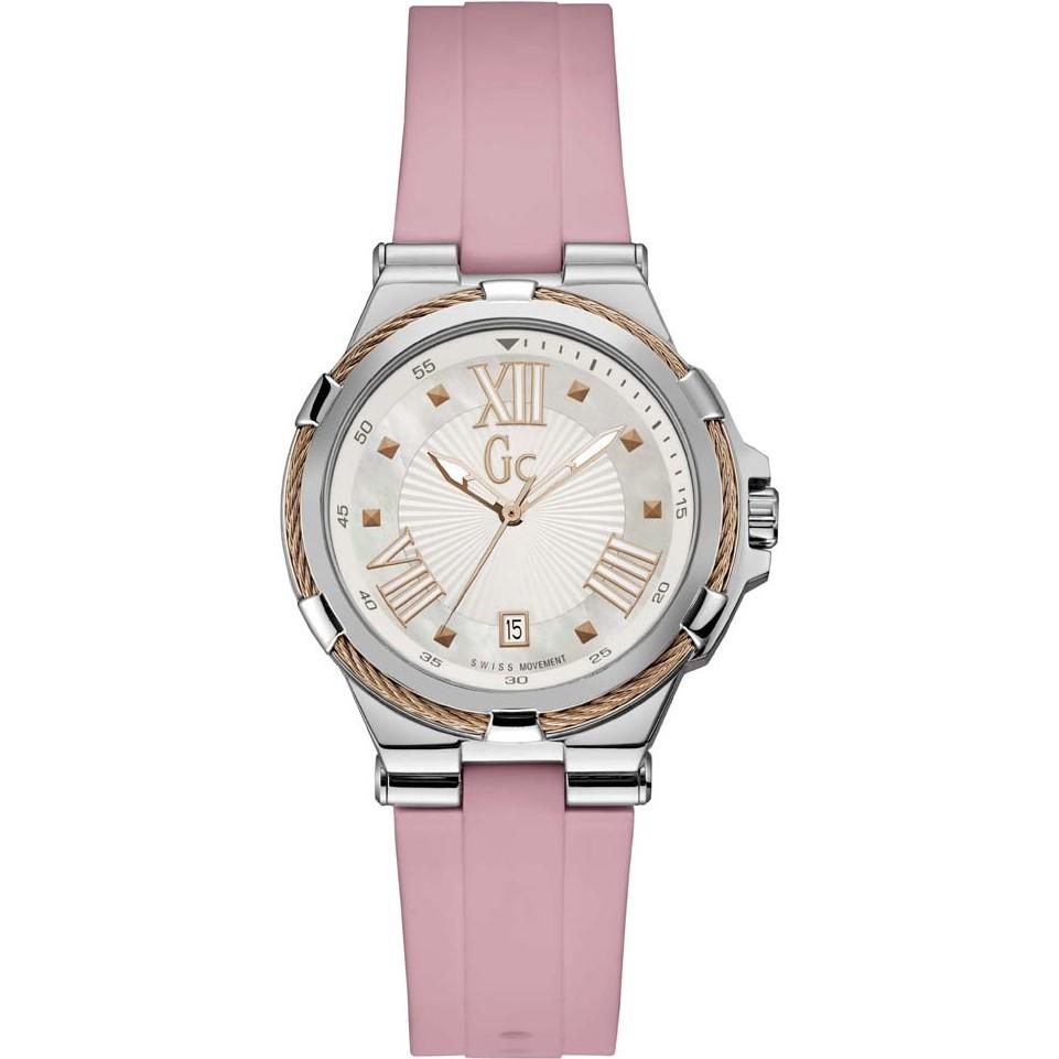Guess Collection Structura Cable Ladies Watch Pink - Watches & Crystals