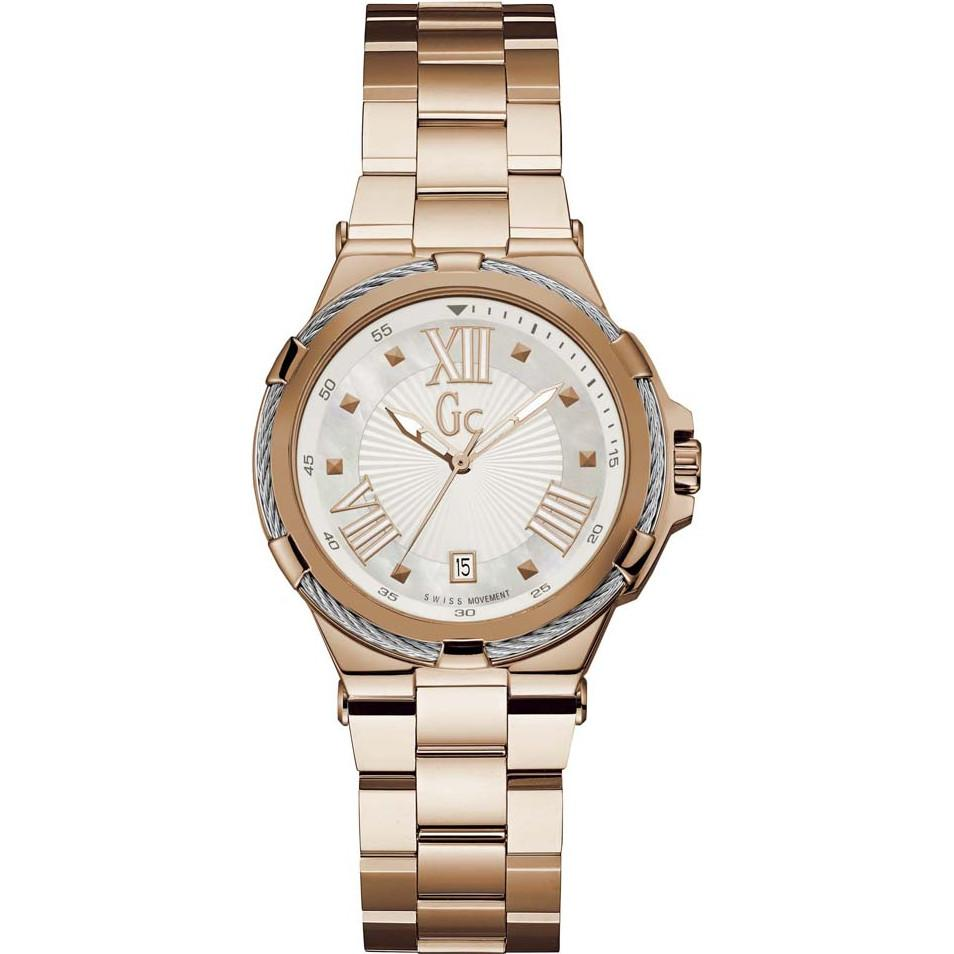 Guess Collection Structura Cable Ladies Watch Rose Gold - Watches & Crystals
