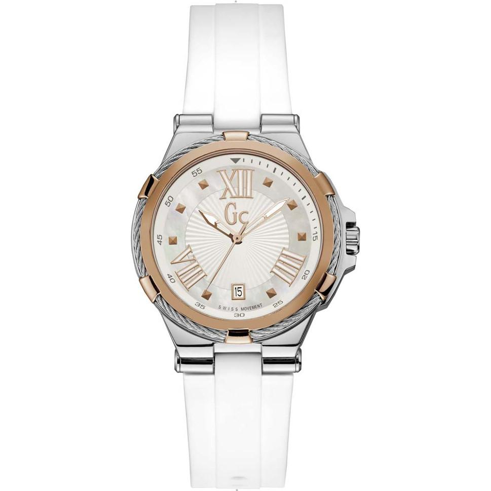 Guess Collection Structura Cable Watch White - Watches & Crystals