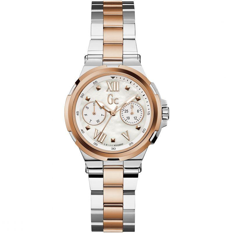 Guess Collection Structura Ladies Watch Two Tone - Watches & Crystals