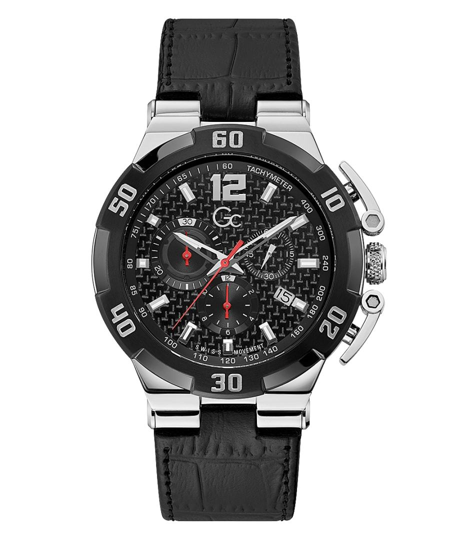 Guess Collection Structura Ultimate Men's Chronograph Watch Steel - Watches & Crystals