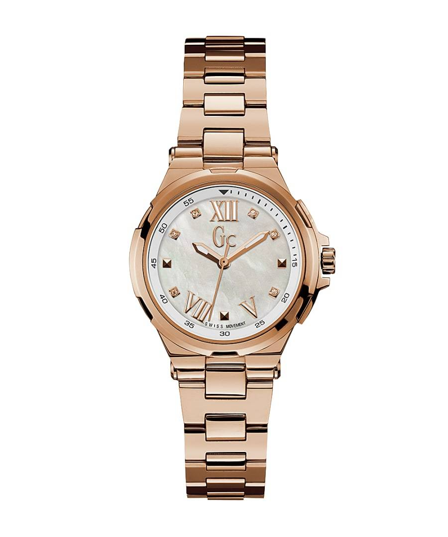 Guess Collection Structura Watch Rose Gold - Watches & Crystals