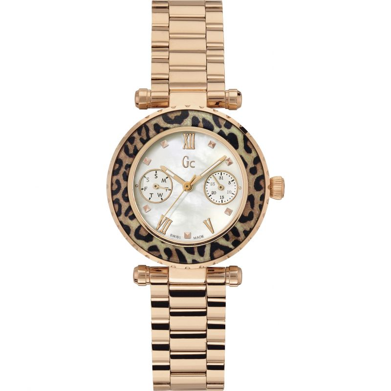 Guess Collection Swiss Precious Watch Rose Gold - Watches & Crystals