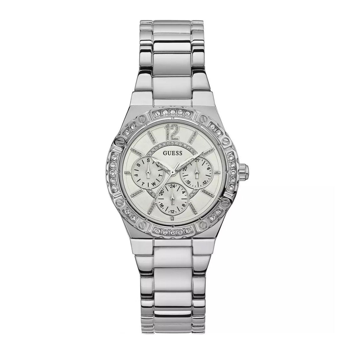 Guess Envy Day Date Steel - Watches & Crystals