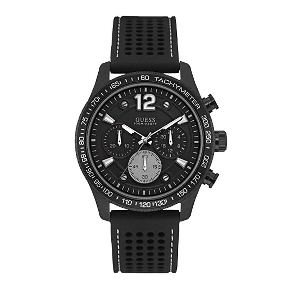 Guess Fleet Chronograph Black - Watches & Crystals