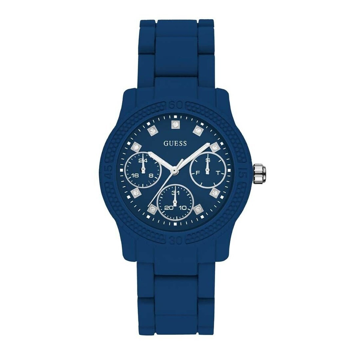 Guess Funfetti Day Date Blue - Watches & Crystals