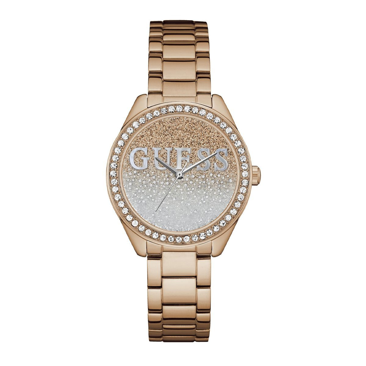 Guess Glitter Girl Rose Gold - Watches & Crystals
