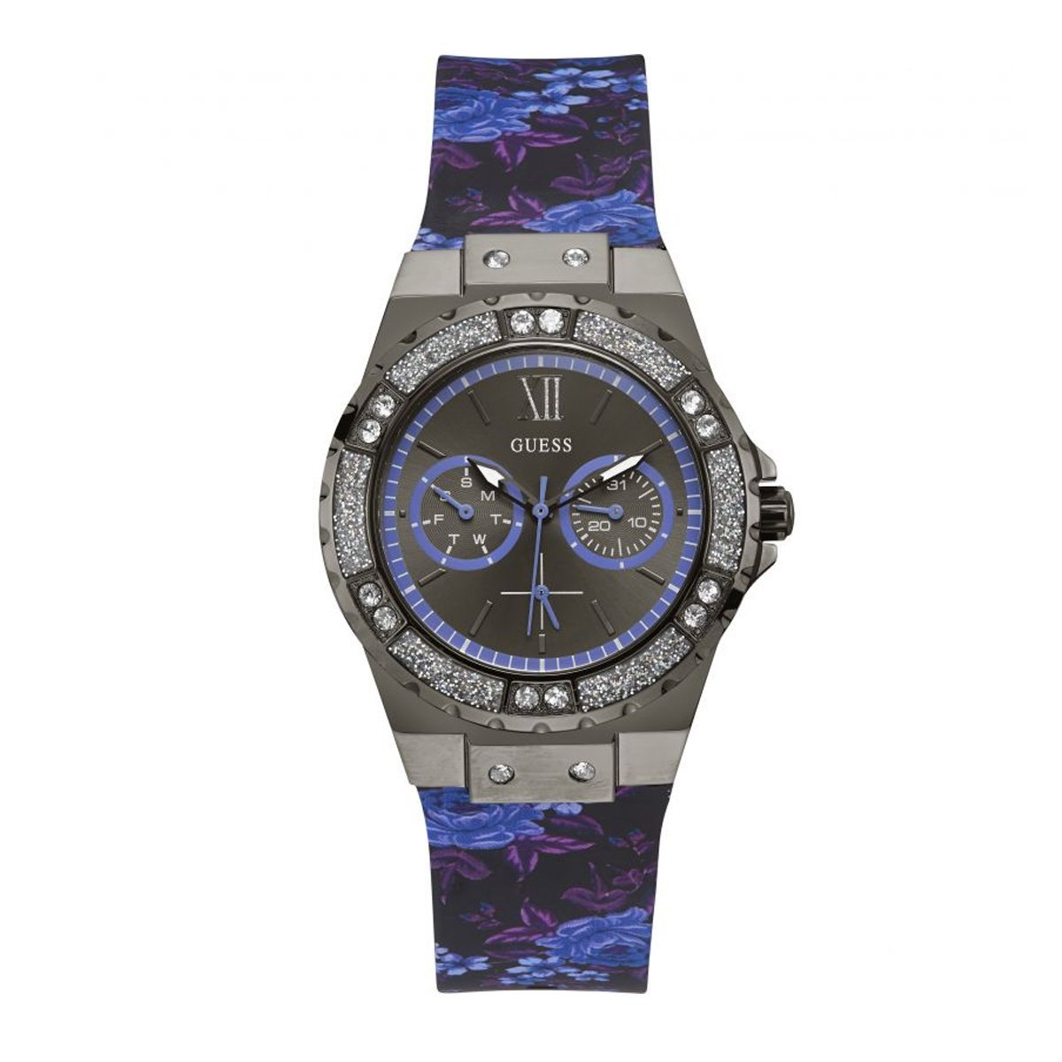 Guess Limelight Purple - Watches & Crystals