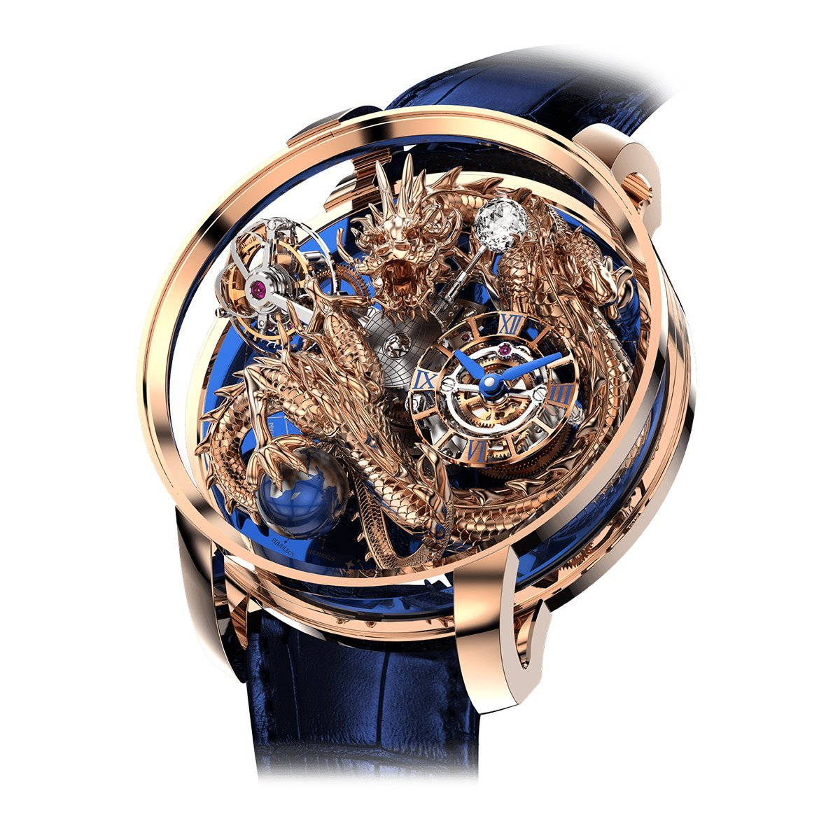 Jacob & Co. Astronomia Art Dragon Rose Gold - Watches & Crystals