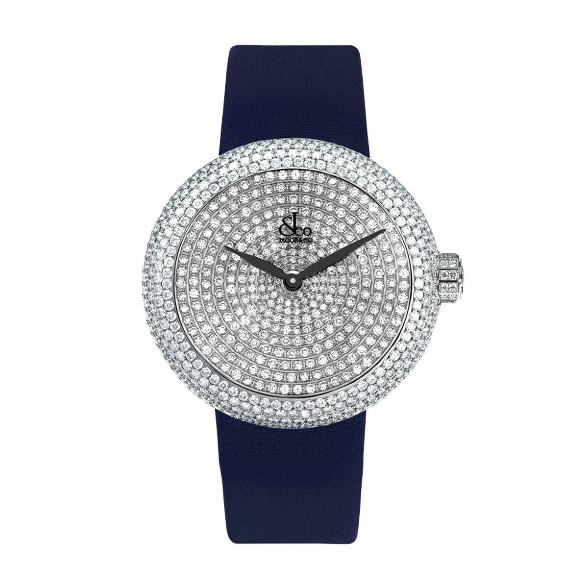 Jacob & Co. Brilliant Pave 38 - Watches & Crystals