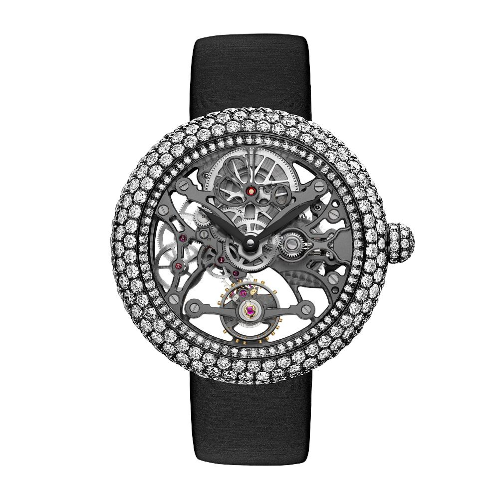 Jacob & Co. Brilliant Skeleton Jewellery White Gold Black DLC - Watches & Crystals