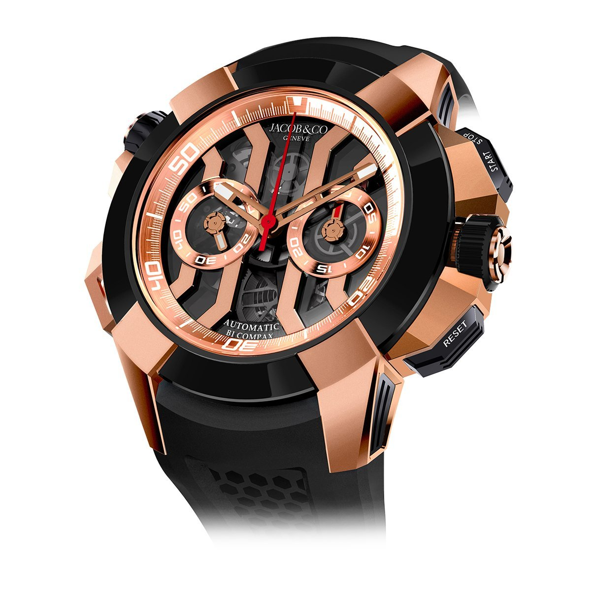 Jacob & Co. Epic X Chronograph Black - Watches & Crystals