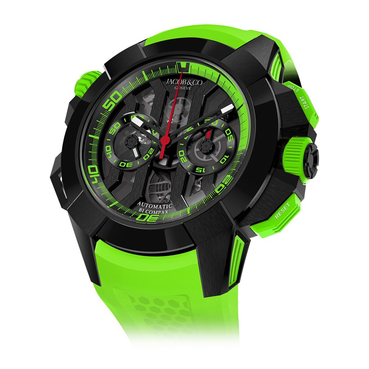 Jacob & Co. Epic X Chronograph Green - Watches & Crystals