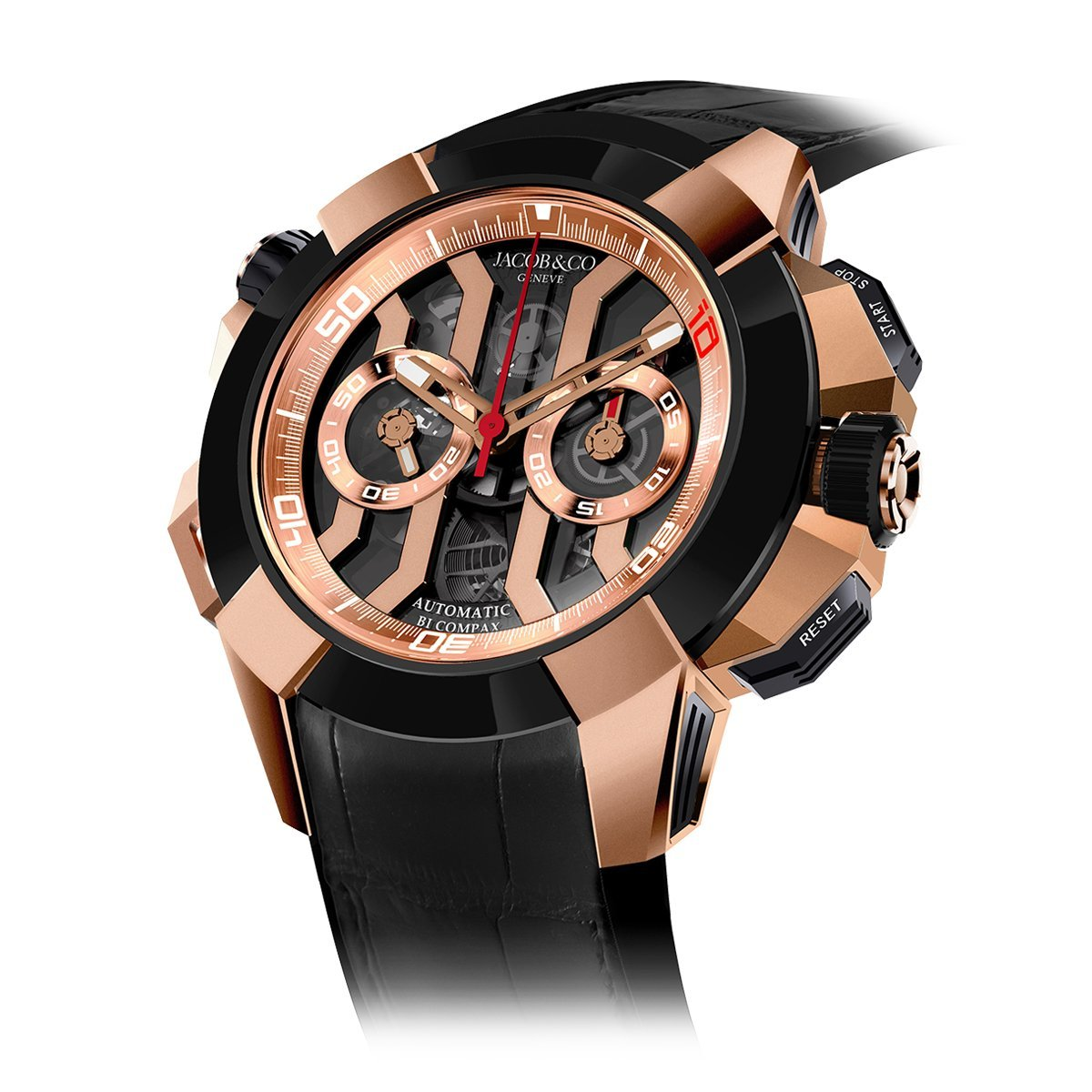 Jacob & Co. Epic X Chronograph Luis Figo - Watches & Crystals