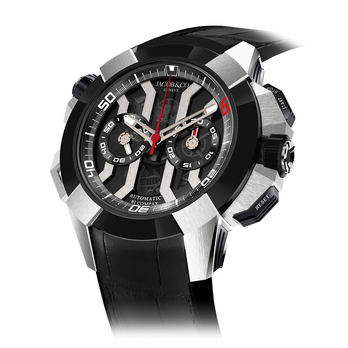 Jacob & Co. Epic X Chronograph Luis Figo Titanium - Watches & Crystals