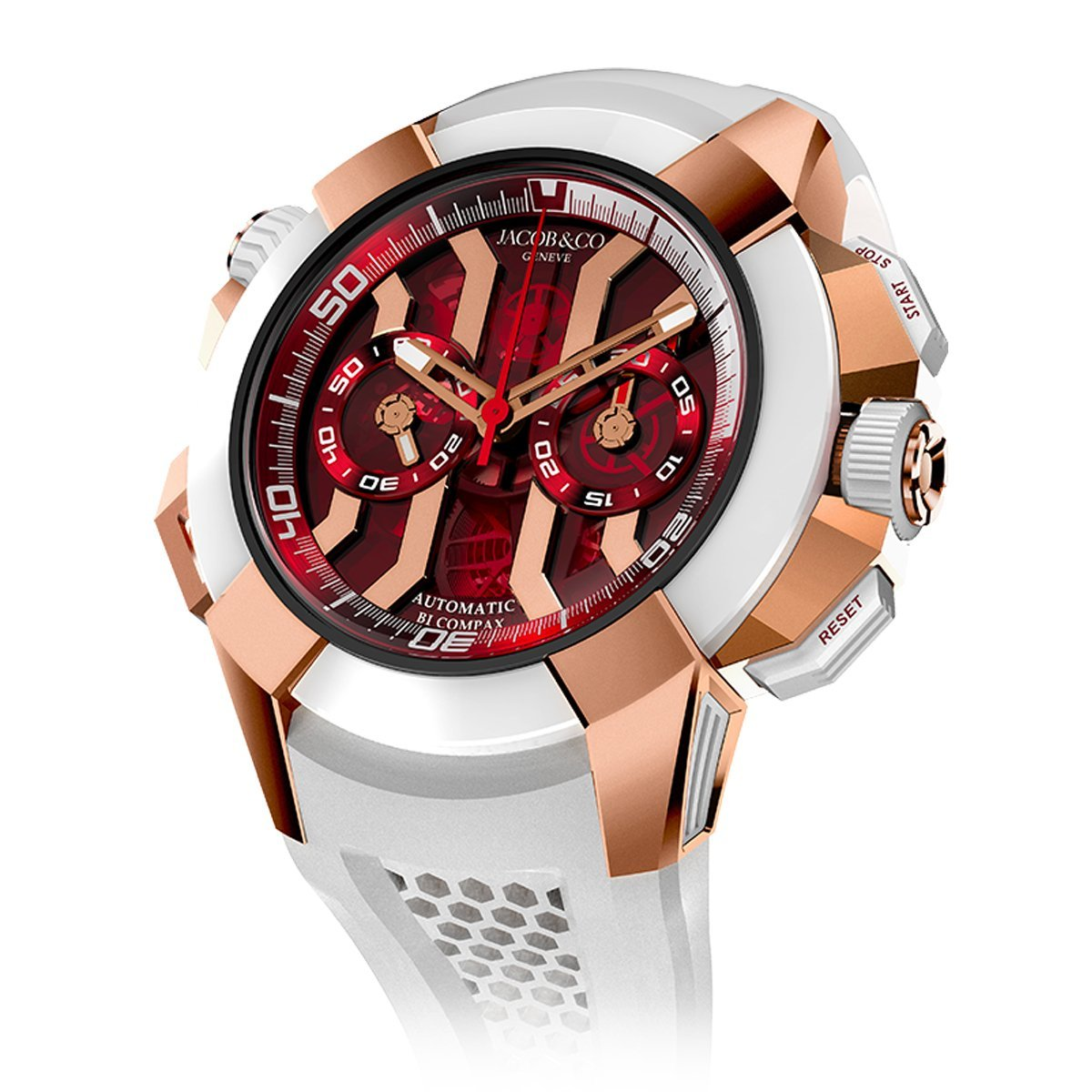 Jacob & Co. Epic X Chronograph Red - Watches & Crystals