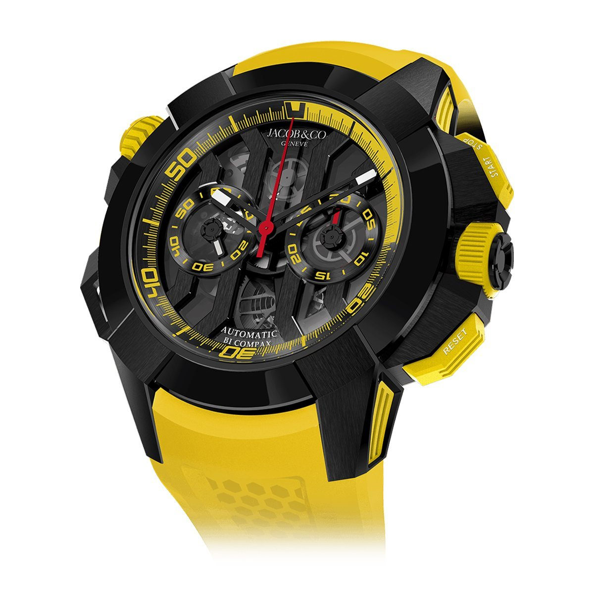Jacob & Co. Epic X Chronograph Yellow - Watches & Crystals
