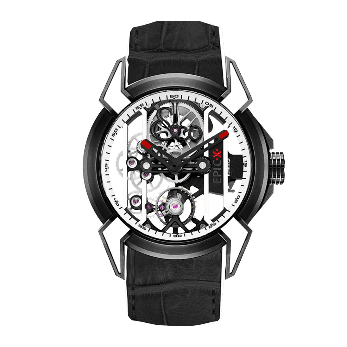 Jacob & Co. Epic X Racing Black DLC White - Watches & Crystals