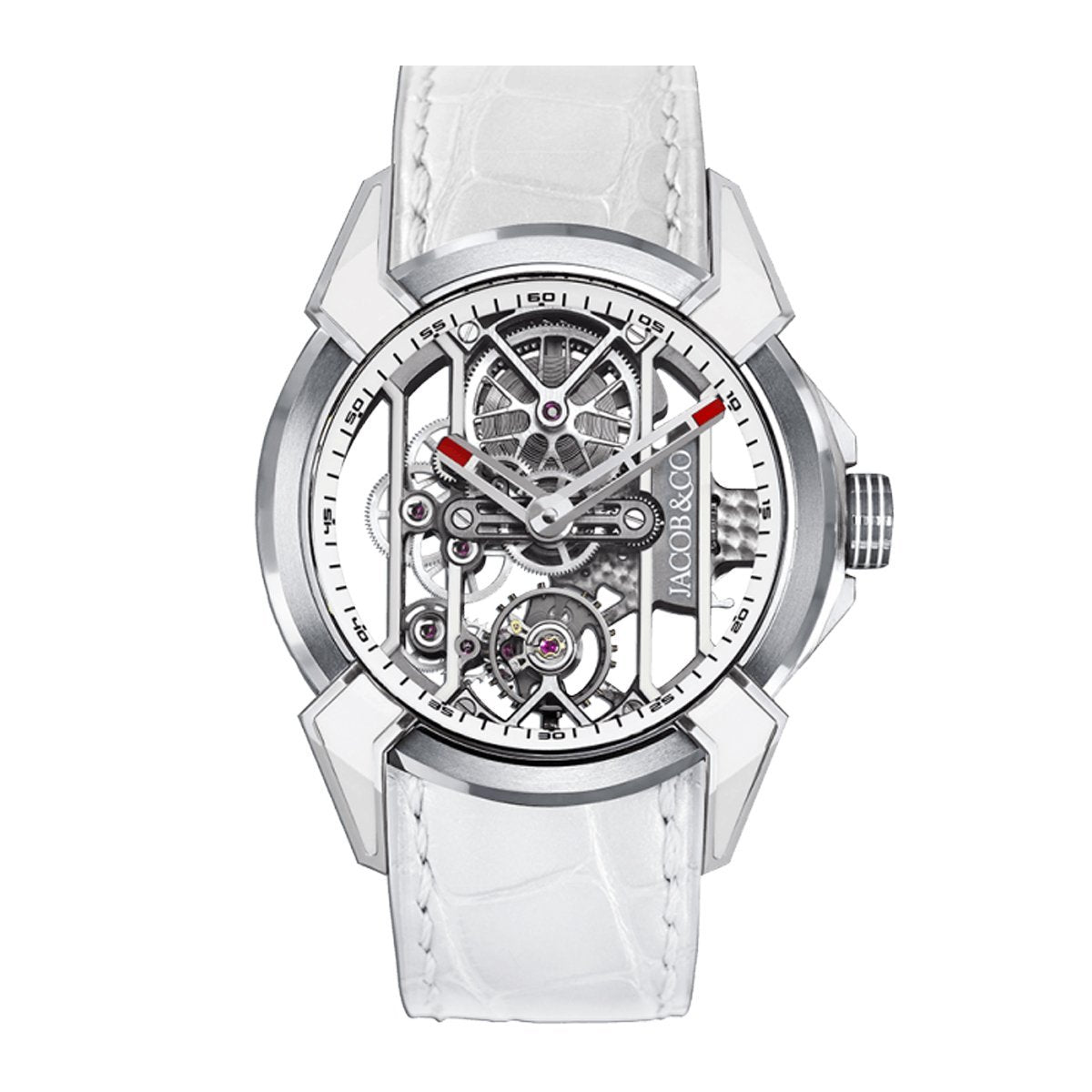 Jacob & Co. Epic X Racing Titanium White - Watches & Crystals