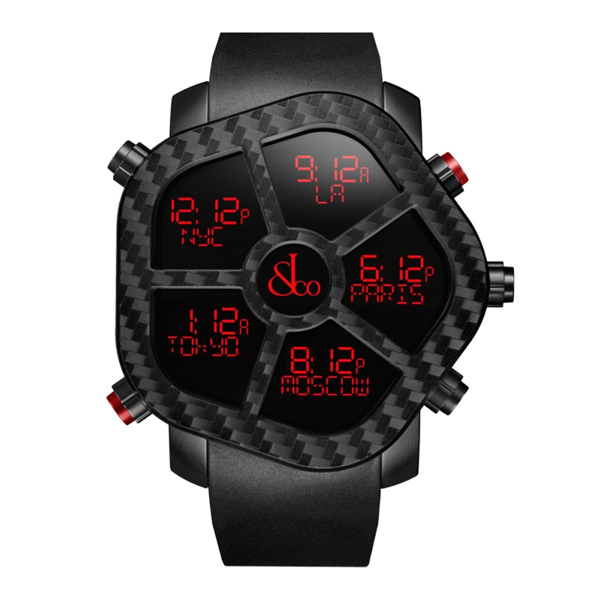 Jacob & Co. Ghost Carbon Black - Watches & Crystals