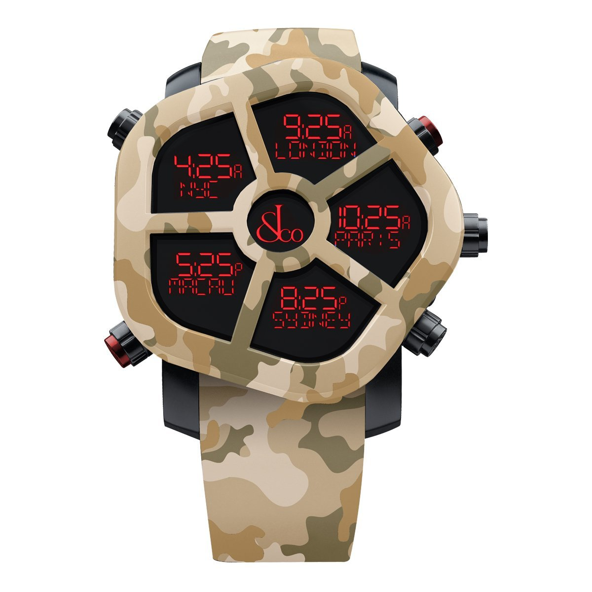 Jacob & Co. Ghost Carbon Desert Camo - Watches & Crystals