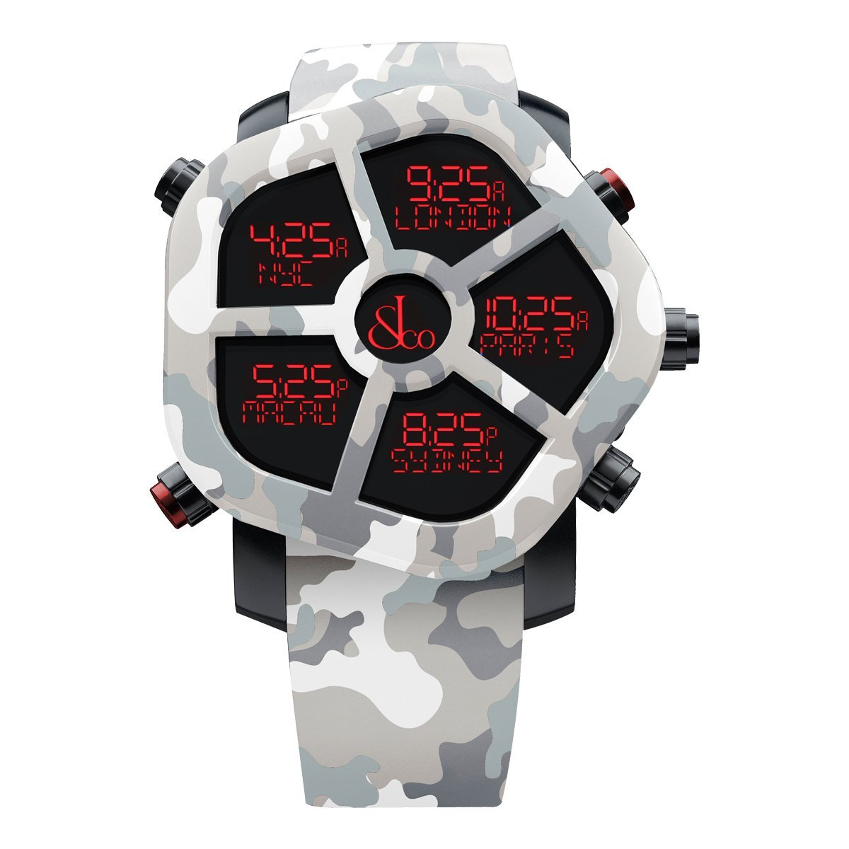 Jacob & Co. Ghost Carbon Grey Camo - Watches & Crystals