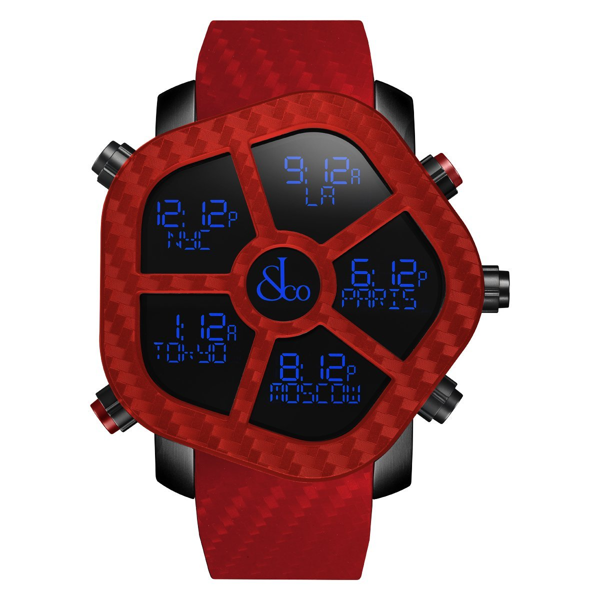 Jacob & Co. Ghost Carbon Red - Watches & Crystals
