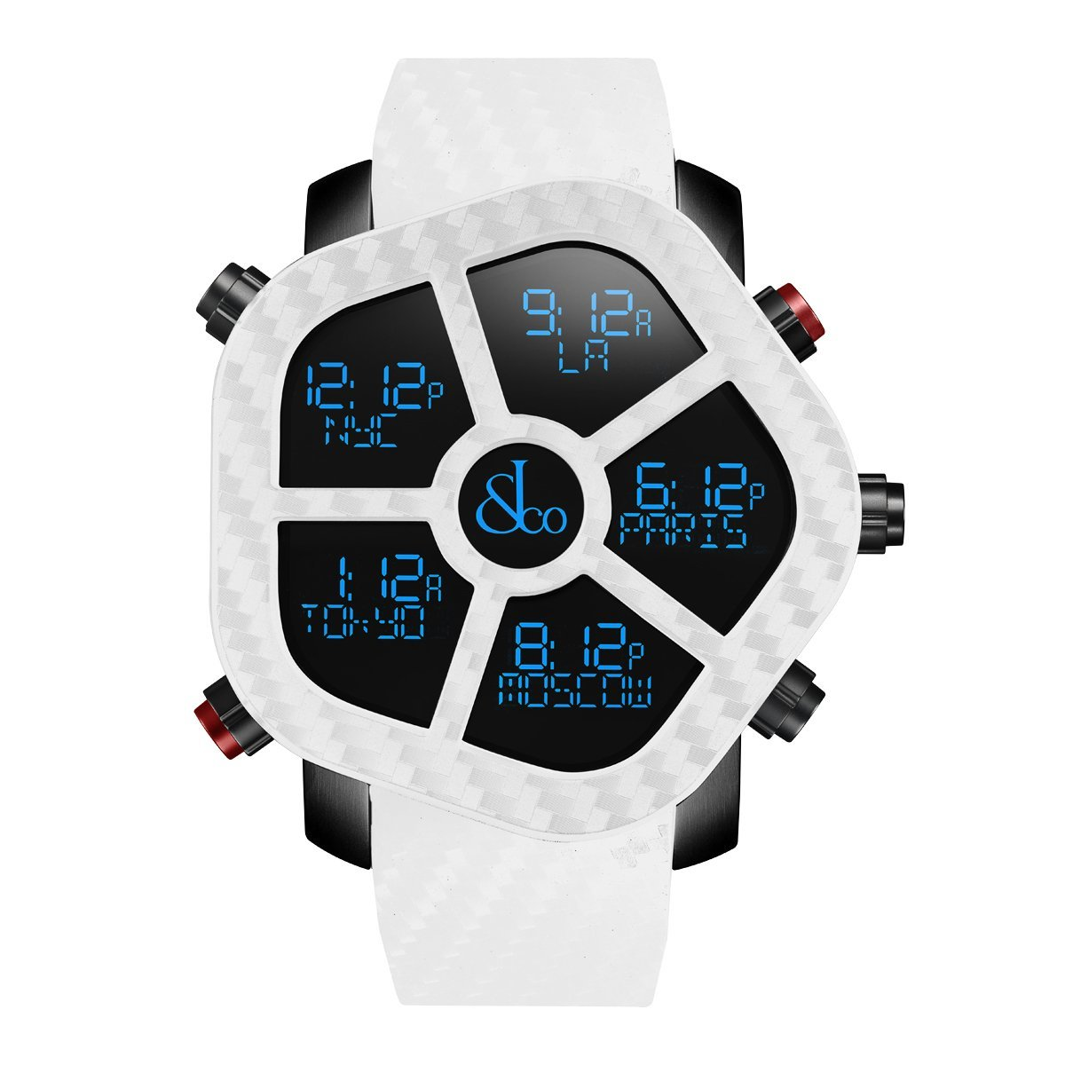Jacob & Co. Ghost Carbon White - Watches & Crystals