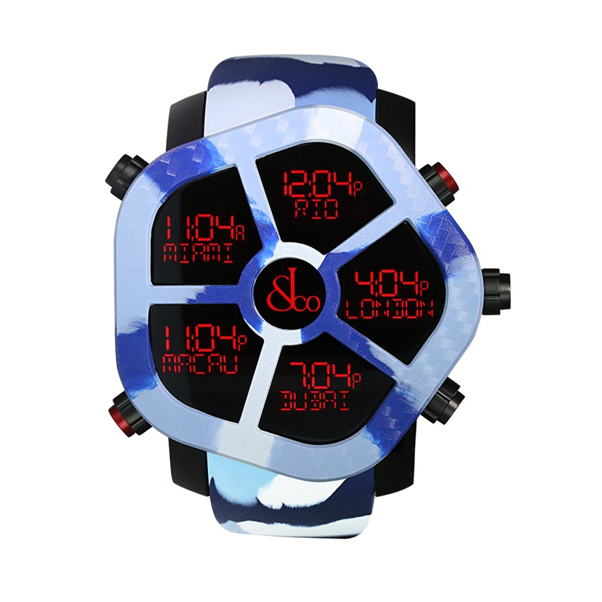 Jacob & Co. Ghost Carbon Winter Camo - Watches & Crystals