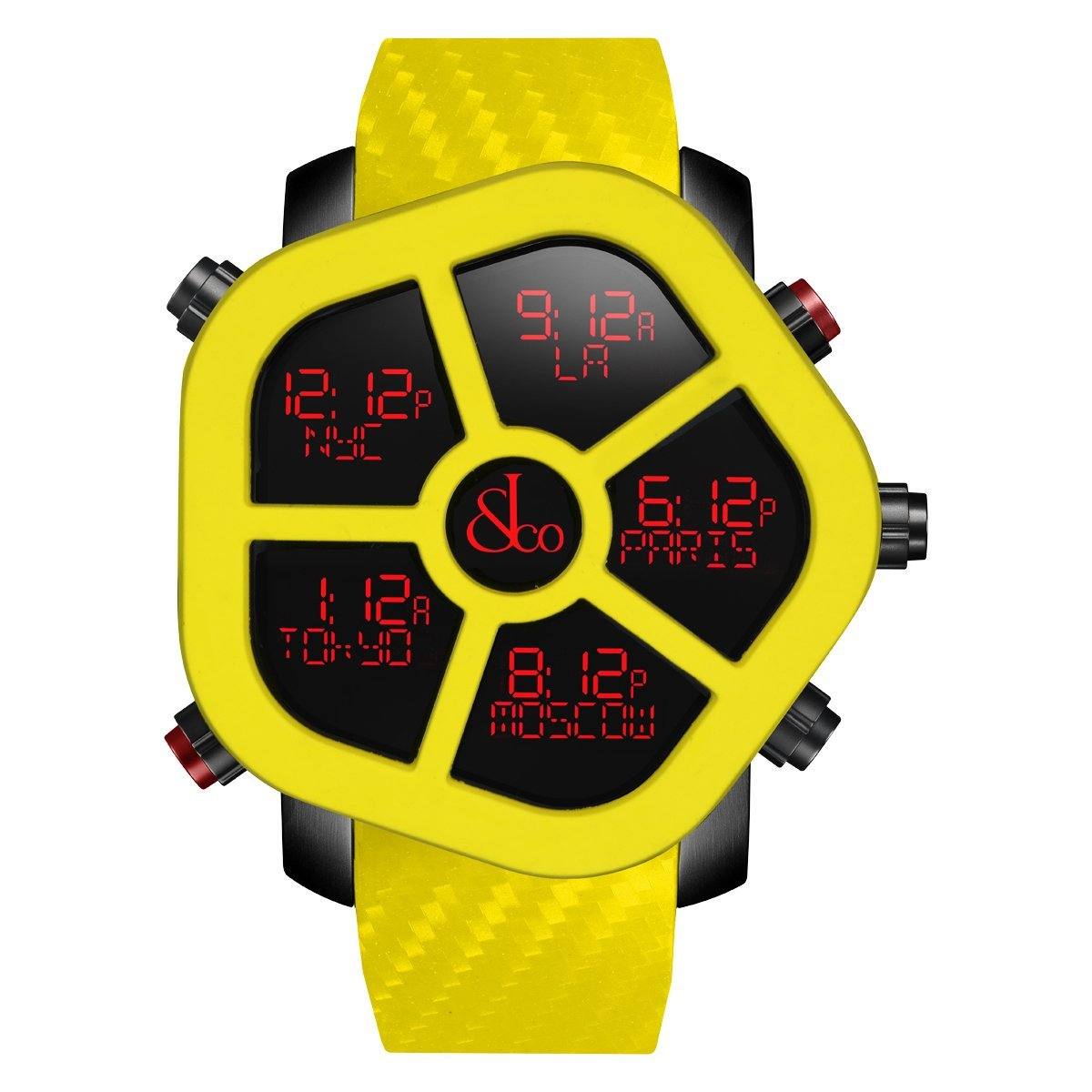 Jacob & Co. Ghost Carbon Yellow - Watches & Crystals