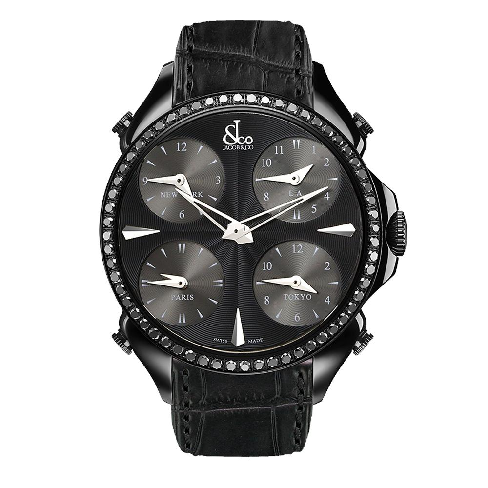 Jacob & Co. Palatial Five Time Zone - Watches & Crystals